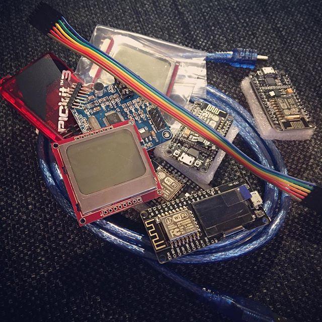 More Aliex mailbag #esp8266 #nokia5110 #pickit #nodemcu #ws1053 #sa6bwx #mailbag #electronics