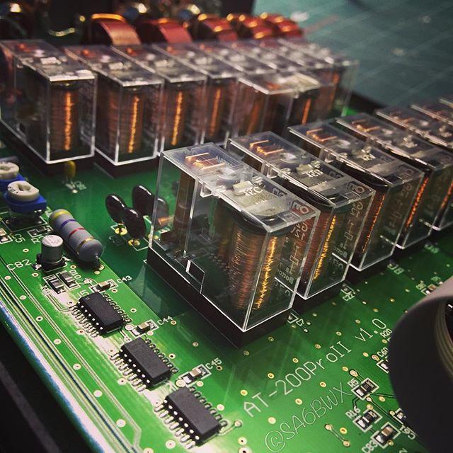 Ldg Tuner #ldgelectronics #at200pro #tuner #hf #sa6bwx #relay #hamradio #hamradiouk