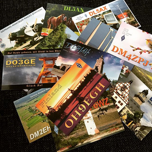 New Qslcards this week. #hamradio #hamradiouk #qsl #qslcard #sa6bwx