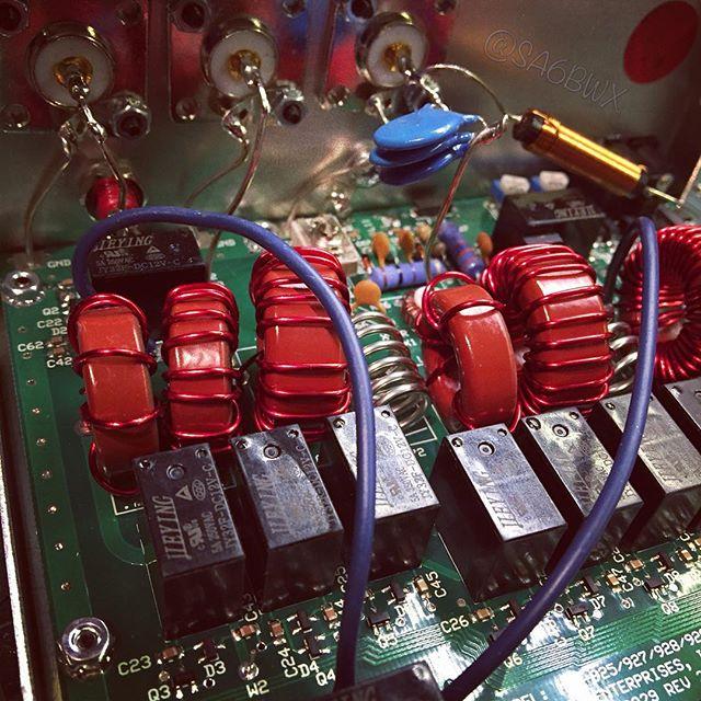 Mfj-929 Tuner #mfj #tuner #intellituner #icom #7300 #hamradio #electronics #sa6bwx #hamradiouk #amateurradio