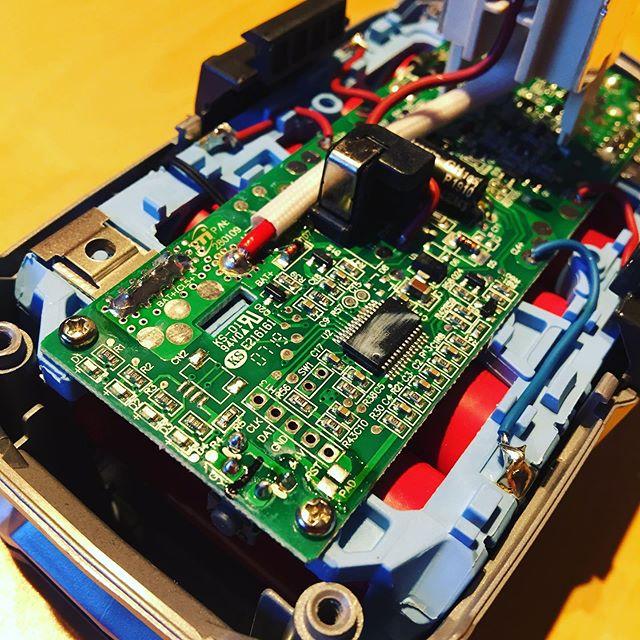 18V Battery management system #portable #power #qrp #outdoors #ft817 #mchf #ryobi #hamradio #hamradiouk #amateurradio #sa6bwx